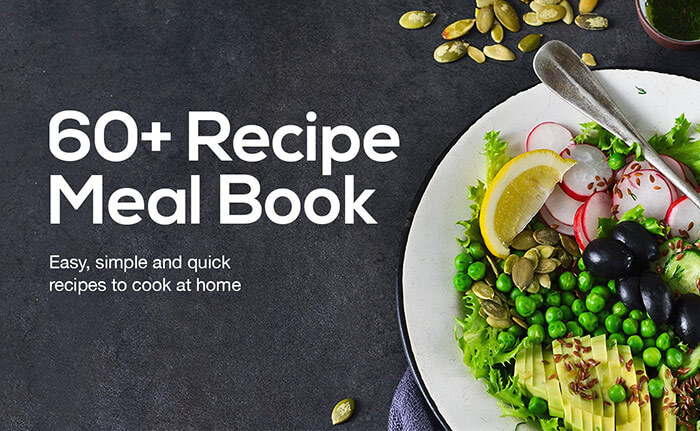 60+ Recipe Meal Book